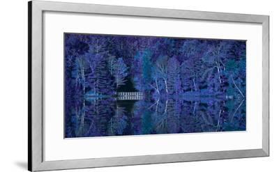 Vermont Bridge Fantasy Pano-Steven Maxx-Framed Photographic Print