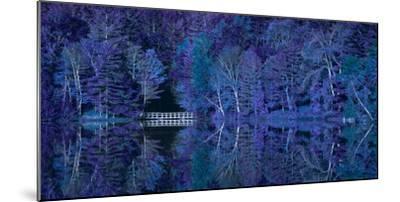 Vermont Bridge Fantasy Pano-Steven Maxx-Mounted Photographic Print