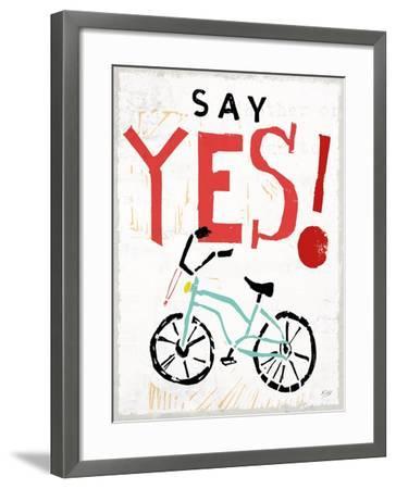 Live To The Fullest V-Kellie Day-Framed Art Print