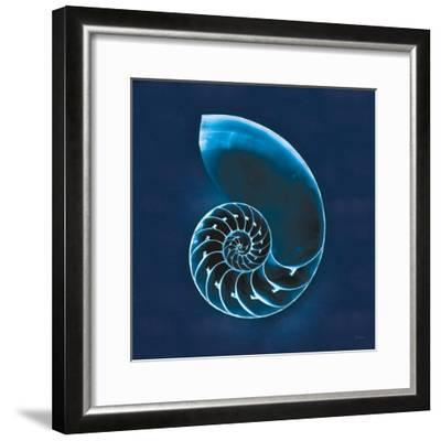 Cyanotype Sea II-Sue Schlabach-Framed Art Print
