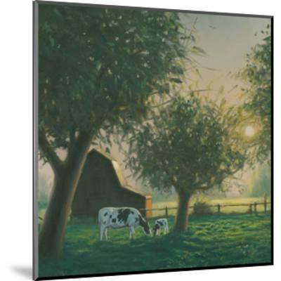 Farm Life IV-James Wiens-Mounted Art Print