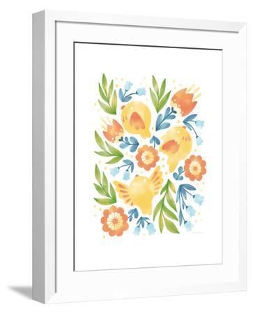 Spring Fling II-Cleonique Hilsaca-Framed Art Print