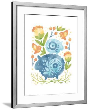 Spring Fling IV-Cleonique Hilsaca-Framed Premium Giclee Print