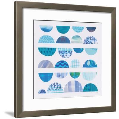 Half Moon Abstract II-Melissa Averinos-Framed Art Print