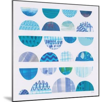 Half Moon Abstract II-Melissa Averinos-Mounted Art Print