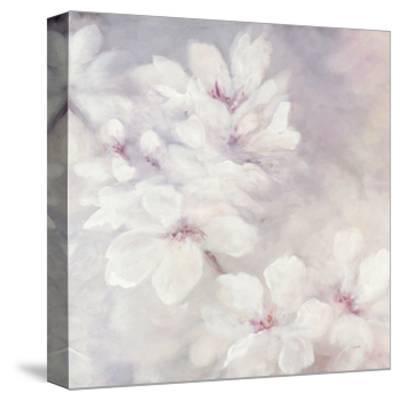 Cherry Blossoms Square-Julia Purinton-Stretched Canvas Print
