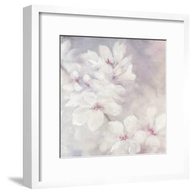 Cherry Blossoms Square-Julia Purinton-Framed Art Print