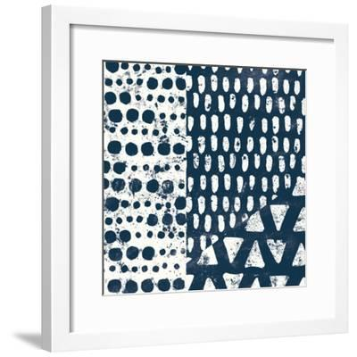 Mark Making Tile III-Moira Hershey-Framed Art Print