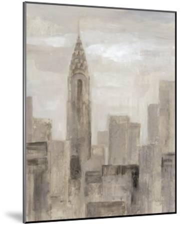 City Blocks I Greige-Silvia Vassileva-Mounted Art Print