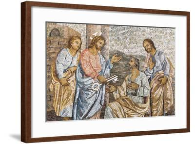 Dolce Vita Rome Collection - Holy Representation in Mosaic-Philippe Hugonnard-Framed Photographic Print