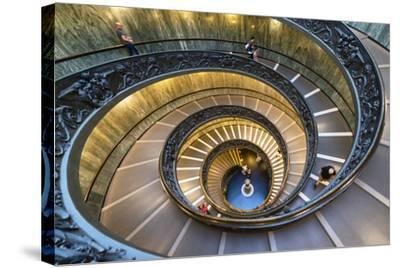 Dolce Vita Rome Collection - Spiral Staircase IV-Philippe Hugonnard-Stretched Canvas Print