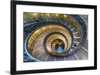 Dolce Vita Rome Collection - Spiral Staircase IV-Philippe Hugonnard-Framed Photographic Print