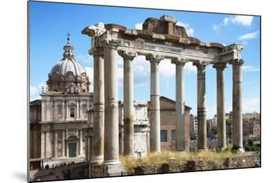 Dolce Vita Rome Collection - Roman Columns Rome-Philippe Hugonnard-Mounted Photographic Print