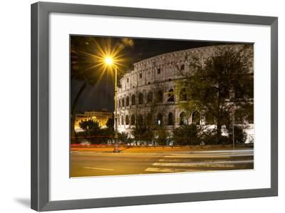 Dolce Vita Rome Collection - Colosseum Night III-Philippe Hugonnard-Framed Photographic Print