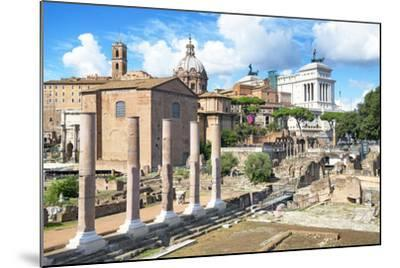 Dolce Vita Rome Collection - Antique Ruins Rome III-Philippe Hugonnard-Mounted Photographic Print