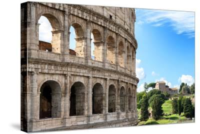 Dolce Vita Rome Collection - The Colosseum Rome VII-Philippe Hugonnard-Stretched Canvas Print