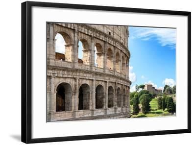 Dolce Vita Rome Collection - The Colosseum Rome VII-Philippe Hugonnard-Framed Photographic Print