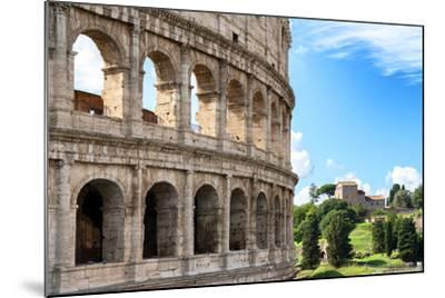 Dolce Vita Rome Collection - The Colosseum Rome VII-Philippe Hugonnard-Mounted Photographic Print