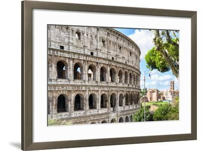 Dolce Vita Rome Collection - The Colosseum Rome VI-Philippe Hugonnard-Framed Photographic Print