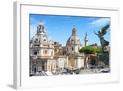 Dolce Vita Rome Collection - The City of the Italian Angels-Philippe Hugonnard-Framed Photographic Print
