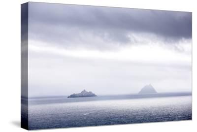 Bray Head, Bray, Kerry, Ireland: The Skellig Islands In Some Interesting Light-Axel Brunst-Stretched Canvas Print