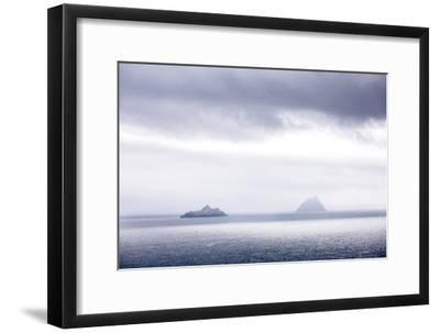 Bray Head, Bray, Kerry, Ireland: The Skellig Islands In Some Interesting Light-Axel Brunst-Framed Photographic Print