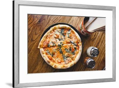 Brown Dog Pizza. Telluride, Colorado-Justin Bailie-Framed Photographic Print