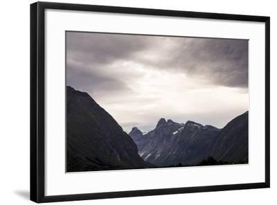 Romsdalseggen Hike, Andalsnes, Romsdalen, Norway-Axel Brunst-Framed Photographic Print