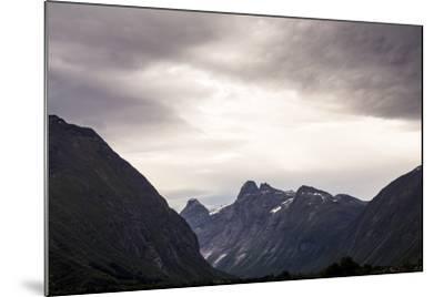 Romsdalseggen Hike, Andalsnes, Romsdalen, Norway-Axel Brunst-Mounted Photographic Print