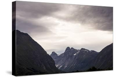 Romsdalseggen Hike, Andalsnes, Romsdalen, Norway-Axel Brunst-Stretched Canvas Print