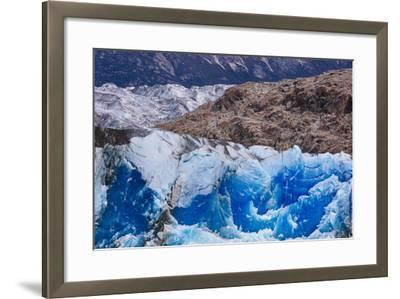 Ice And Scenery Near The Viedma Glacier From Lago Viedma In Los Glaciares NP Patagonia Argentina-Jay Goodrich-Framed Photographic Print