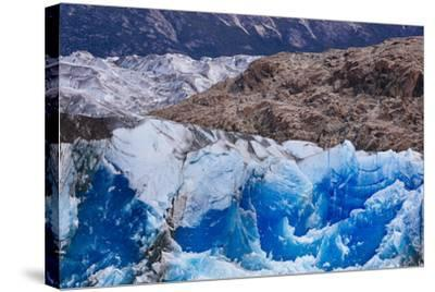 Ice And Scenery Near The Viedma Glacier From Lago Viedma In Los Glaciares NP Patagonia Argentina-Jay Goodrich-Stretched Canvas Print