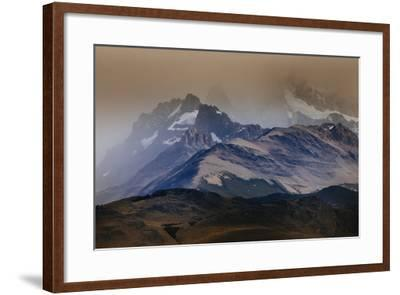 A Storm Over The Peaks Near Mount Fitz Roy In Los Glacieres National Park, Argentina-Jay Goodrich-Framed Photographic Print