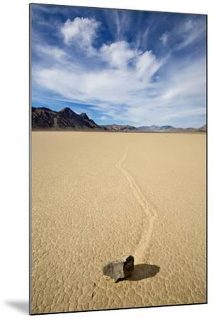 "Death Valley National Park, CA: ""Moving"" Rocks Of The Famous Racetrack-Ian Shive-Mounted Photographic Print"