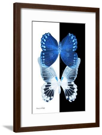 Miss Butterfly Duo Memhowqua II - X-Ray B&W Edition-Philippe Hugonnard-Framed Photographic Print