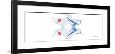 Miss Butterfly Duo Parisuthus Pan - X-Ray White Edition-Philippe Hugonnard-Framed Photographic Print