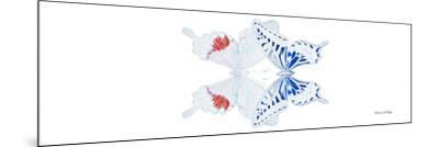 Miss Butterfly Duo Parisuthus Pan - X-Ray White Edition-Philippe Hugonnard-Mounted Photographic Print