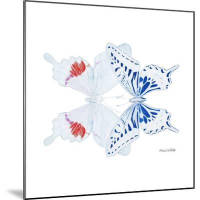 Miss Butterfly Duo Parisuthus Sq - X-Ray White Edition-Philippe Hugonnard-Mounted Photographic Print
