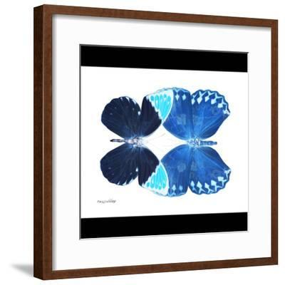 Miss Butterfly Duo Formoia Sq - X-Ray B&W Edition-Philippe Hugonnard-Framed Photographic Print