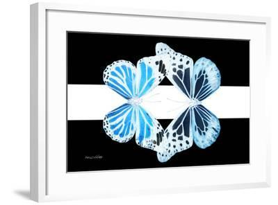 Miss Butterfly Duo Genuswing - X-Ray B&W Edition II-Philippe Hugonnard-Framed Photographic Print