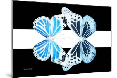 Miss Butterfly Duo Genuswing - X-Ray B&W Edition II-Philippe Hugonnard-Mounted Photographic Print
