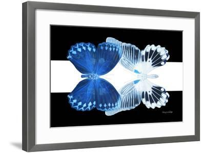 Miss Butterfly Duo Memhowqua - X-Ray B&W Edition II-Philippe Hugonnard-Framed Photographic Print