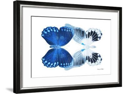 Miss Butterfly Duo Memhowqua - X-Ray White Edition-Philippe Hugonnard-Framed Photographic Print