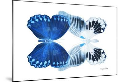 Miss Butterfly Duo Memhowqua - X-Ray White Edition-Philippe Hugonnard-Mounted Photographic Print
