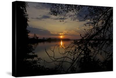 The Brahmaputra River In Kaziranga National Park-Steve Winter-Stretched Canvas Print