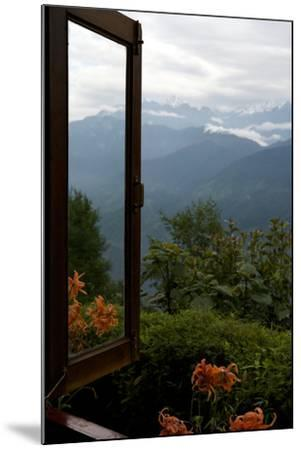 Singalila Ridge And Sikkim Landscape Seen From A Window-Steve Winter-Mounted Photographic Print