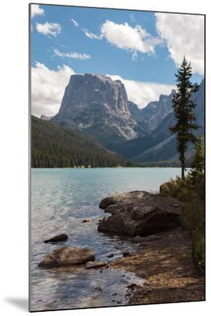 The Shore Of Upper Green River Lake And Square Top Mountain-Greg Winston-Mounted Photographic Print
