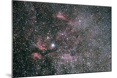 The Sadr Region Of Cygnus, Including IC 1318 And The Crescent Nebula-Mike Cavaroc-Mounted Photographic Print