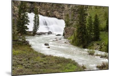 Granite Falls Along Granite Creek, Bridger-Teton National Forest, Wyoming-Mike Cavaroc-Mounted Photographic Print