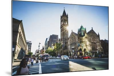 Old South Church, Boston, Massachusetts-Louis Arevalo-Mounted Photographic Print